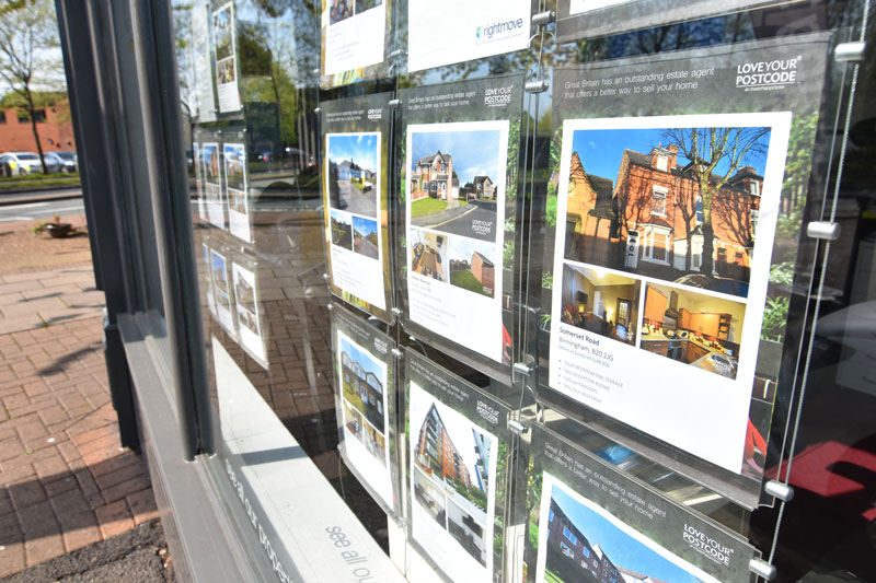 Image of Love Your Postcode window display