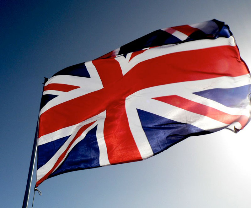 An image of a union flag