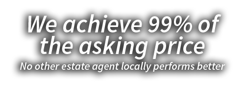 We achieve 99% of the asking price