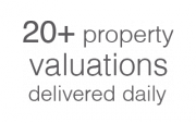 20+ property valuations delivered