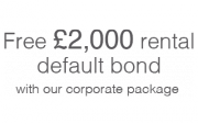 £2000 rental bond guarantee for landlords on our coporate package