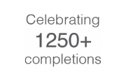 Celebrating 1250+ completions