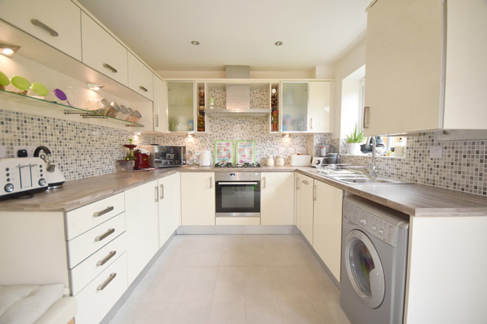 Example of a clean kitchen photo for a property Love Your Postcode is selling