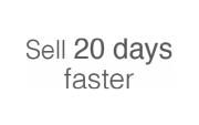 Sell 20 days faster