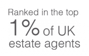 Ranked in the top 1% of UK estate agents