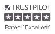 Rated 5 star on Trust Pilot by over 100 reviews