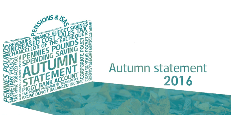 How will the Autumn Statement 2016 affect the property market?