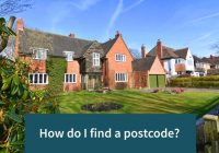 How do I find a postcode?