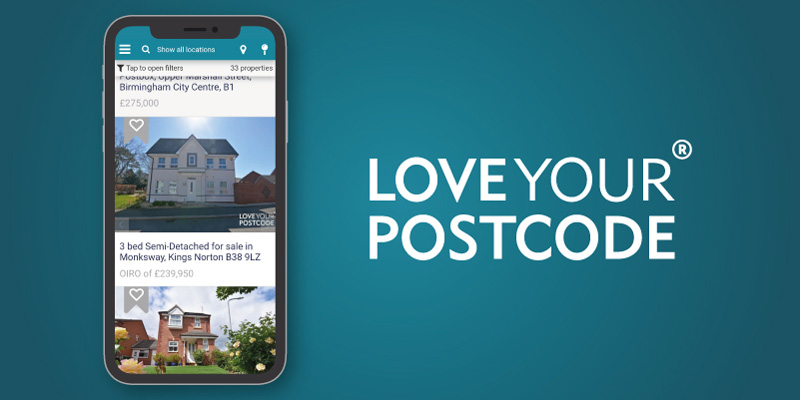 Loveyourpostcode property apps