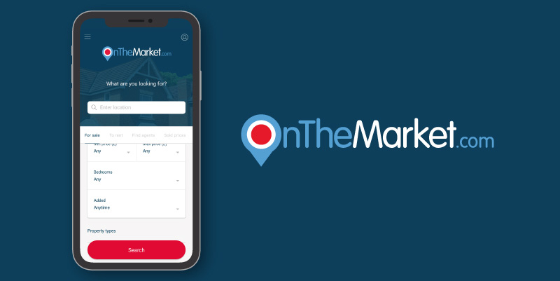 onthemarket property search apps