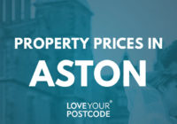 How much does a house cost in Aston?