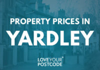 How much does a house cost in Yardley?