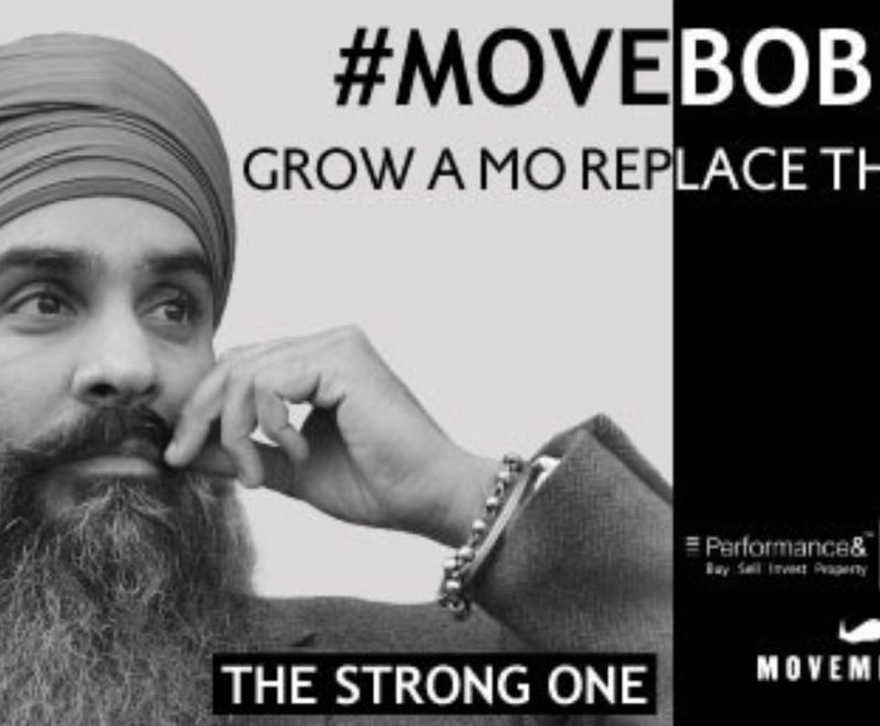 Love Your Postcode launches '#MoveBobby' Movember campaign