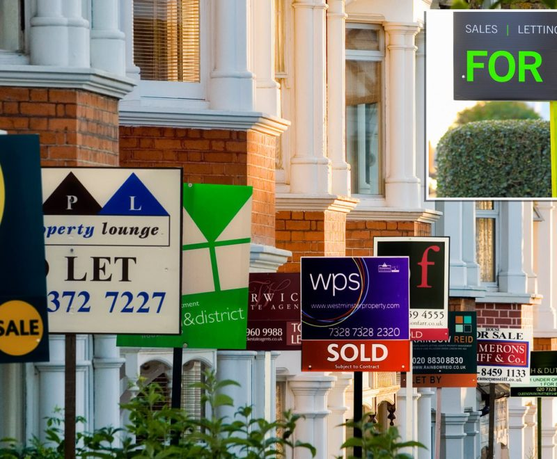 Where is the UK's current property selling hotspot?